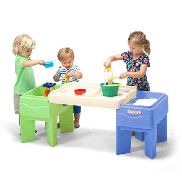 The in and out table is perfect as a gift for sensory seekers! #ad