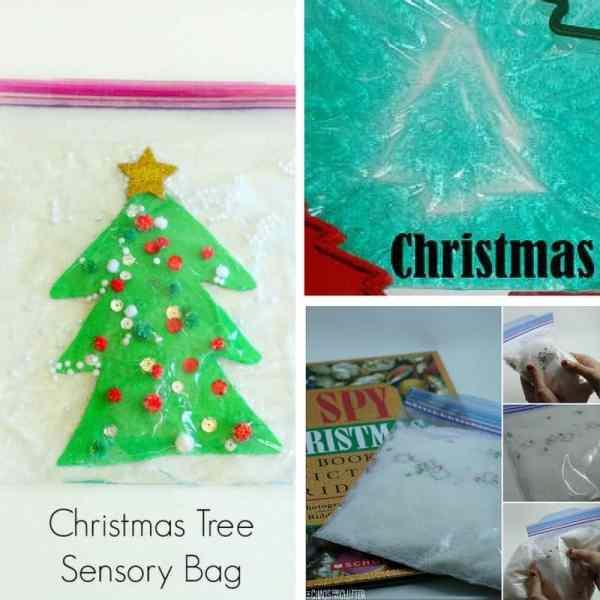 Christmas sensory bags square