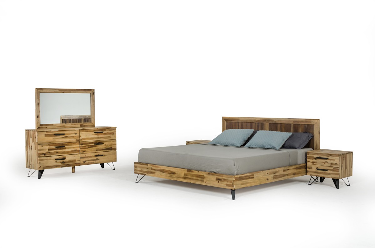 Modern Sala Set Images Modrest Sala Modern Light Wood Bedroom Set
