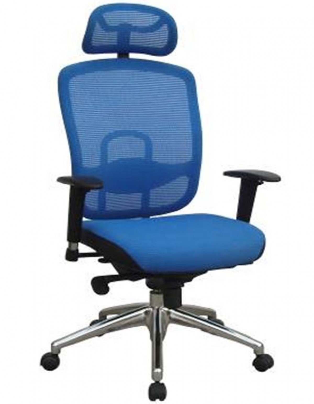 Blue Office Chair Modrest Liberty Modern Blue Office Chair