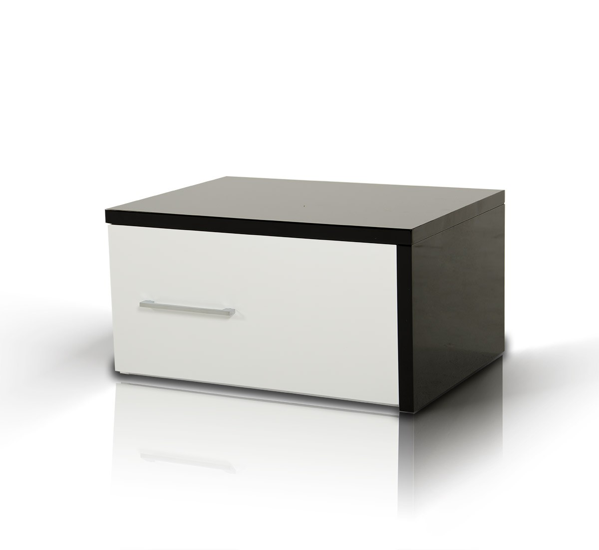 Modern Bed Stand Modrest Infinity Contemporary Night Stand