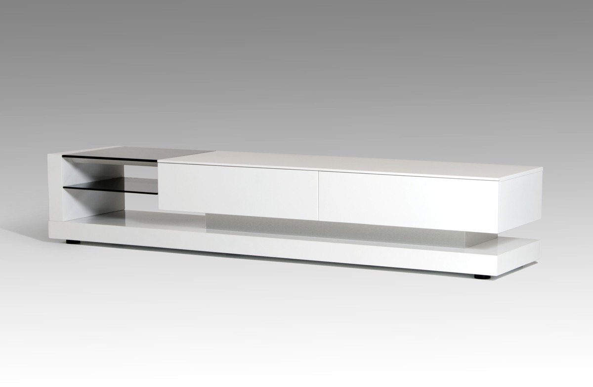 Tv Sideboard Modern Modrest Mali Modern White Tv Stand