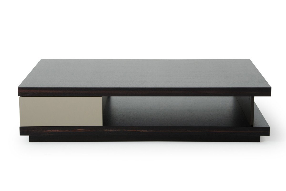 Grey Modern Coffee Table A Andx Caligari Modern Oak And Grey Gloss Coffee Table
