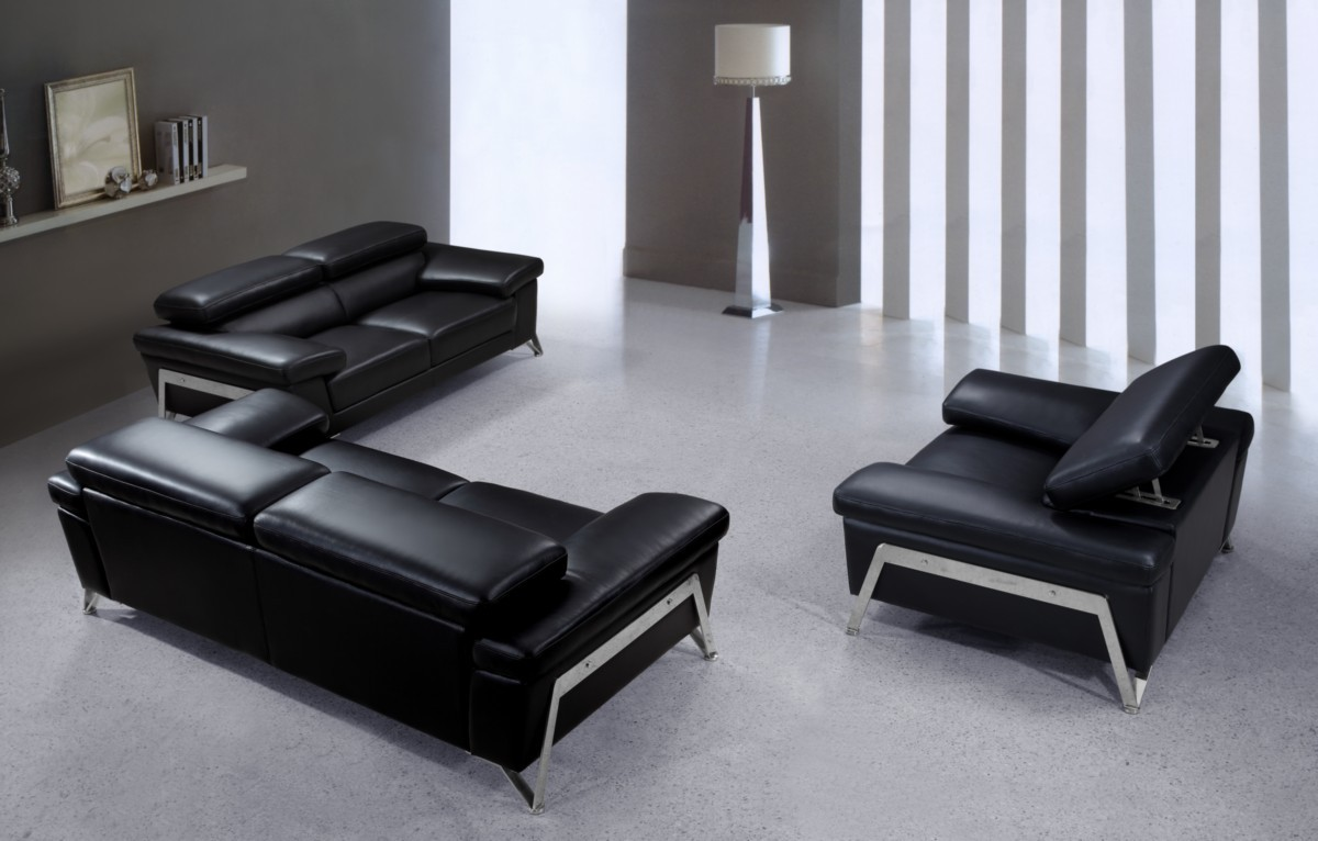 Divani Casa Encore Divani Casa Encore Modern Leather Sofa Set