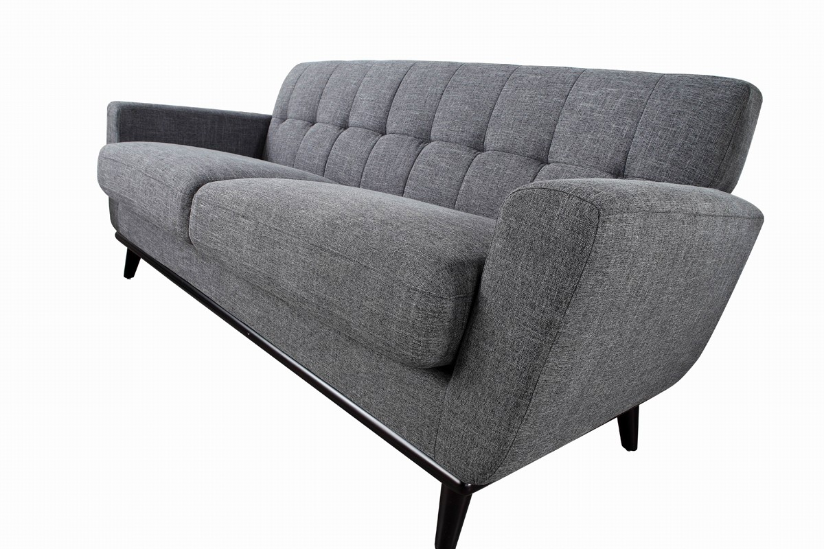 Divani Sofa Set Divani Casa Corsair Modern Grey Fabric Sofa Set