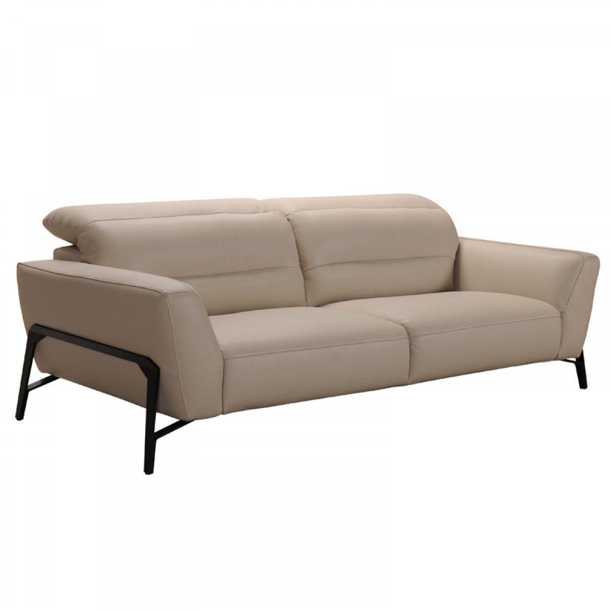 Sofa Taupe Divani Casa Evora Modern Taupe Leather Sofa And Chair Set