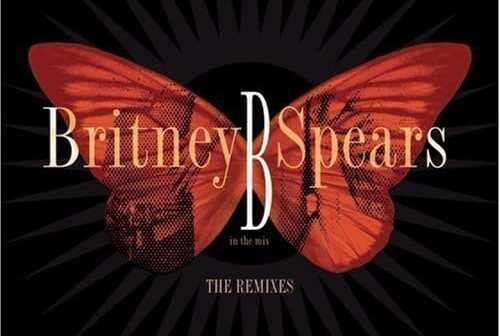 Cover of Britney's remix album: Monarch Programming.