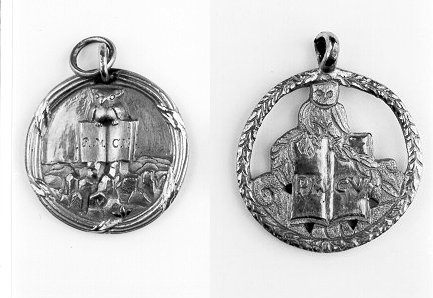 Minerval seals of the Bavarian Illuminati. These pendants, worn around the necks of Minerval initiates, featured the Owl of Minerva . Also known as the Owl of Wisdom, this symbol is still found today in powerful places: around the White House, hidden on the dollar bill or on the insignia of the Bohemian Club.