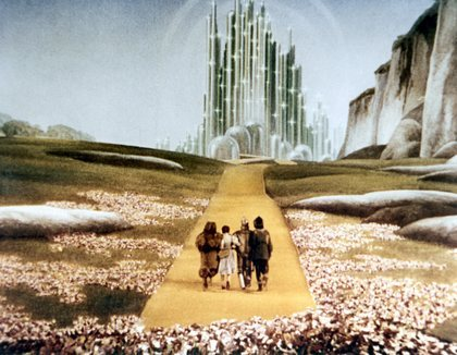 The movie The Wizard of Oz is used by Monarch handlers to program their slaves. Symbols and meanings in the movie become triggers in the slaves mind enabling easy access to the slaves mind by the handler. In popular culture, veiled references to Monarch programming often use analogies to The Wizard of Oz and Alice in Wonderland.