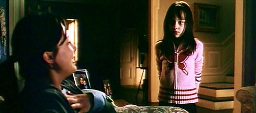 In a deleted scene featured on the DVD, we see Emily acting extra creepy around her babysitter while wearing a shirt that has a big butterfly on it - hinting to Monarch programming.