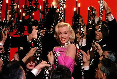 "In the movie ""Gentlemen Prefer Blondes"", Monroe famously performs the song ""Diamonds are a Girl's Best Friend"". Was there are double meaning to that song?"