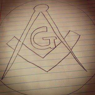 The sign of Freemasonry.