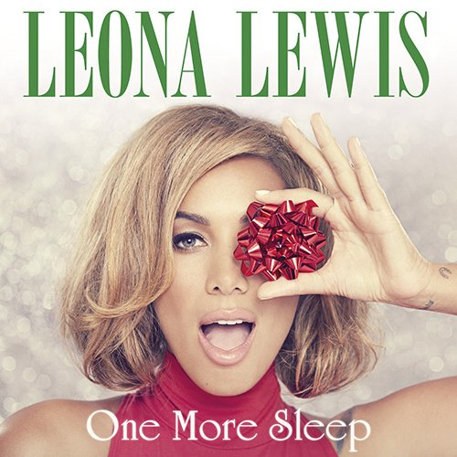 """The cover of Leona Lewis' single """"One More Sleep"""" features a Christmas-themed one-eye sign. The Illuminati industry doesn't take holiday vacations."""