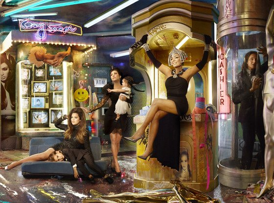 3 The Kardashian 2013 Christmas Card: A Tribute to the Illuminati Entertainment Industry
