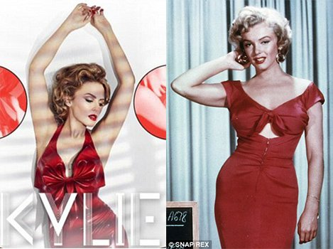 Kylie and the original Marilyn. That's what this twisted music industry forces you to do.