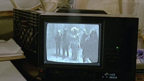 The detectives find at the Tuttles house a video of a little girl being abused and sacrificed by five masked men.