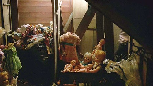 "Errol's house is full of dolls (many of which are beheaded). Not only do these dolls add to the ""creep"" factor, they are a classic symbol to represent multiple personas created through Mind Control."