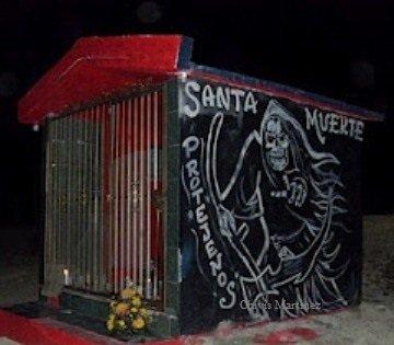 santa Muerte coahuila 2