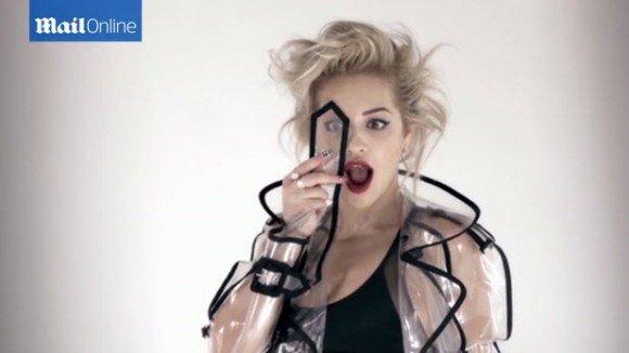Of course, Rita Ora must also do the One Eye sign.