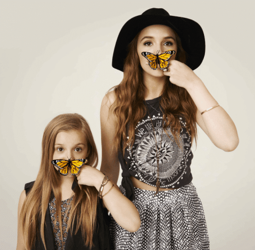 Canadian singing duo Lennon & Maisy signed with Disney/ABC and, shortly after, became associated with the symbolism of Monarch mind control.