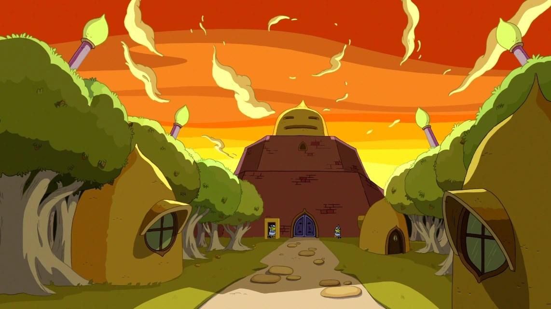 Animated Jungle Wallpaper Castle Lemongrab Adventure Time Wiki Fandom Powered By