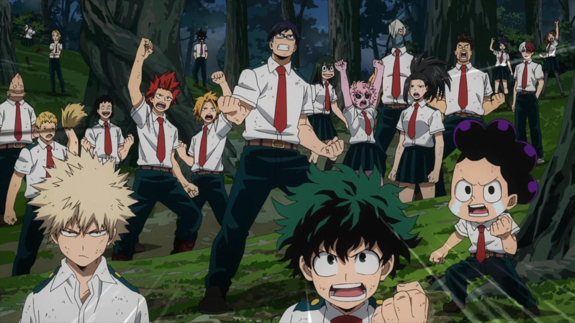 Wallpaper Engine Gun Anime Girl Forest Training Camp Arc Boku No Hero Academia Wiki