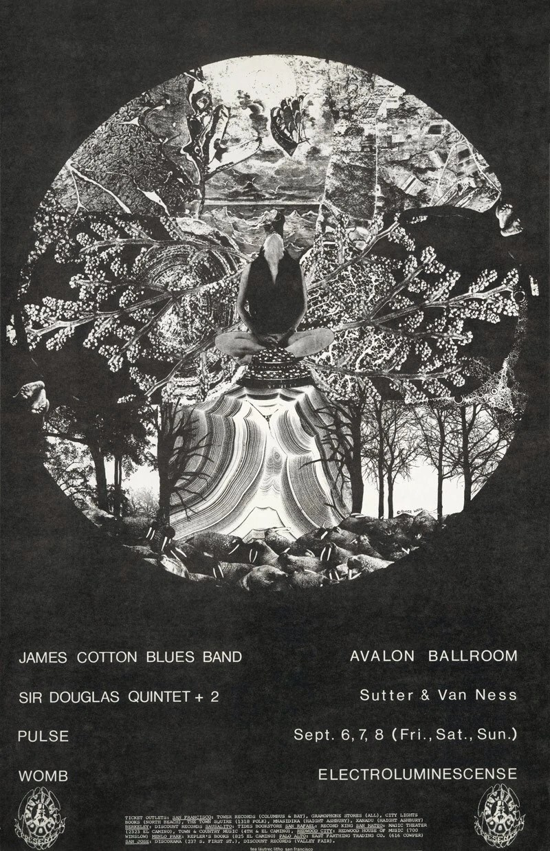 Poco Frechen September 6-8, 1968 Avalon Ballroom, San Francisco, Ca