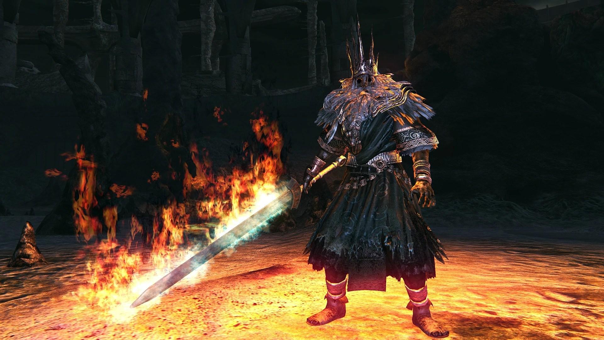Gwyn Lord Of Cinder Dark Souls Wiki Fandom Powered By