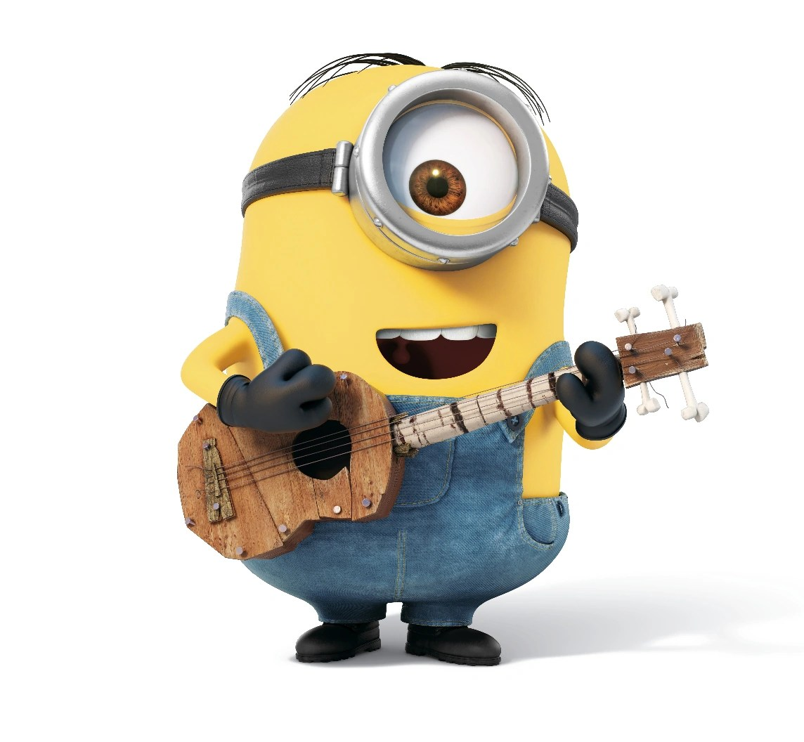 Girl Playing Guitar Hd Wallpapers Stuart Despicable Me Wiki Fandom Powered By Wikia