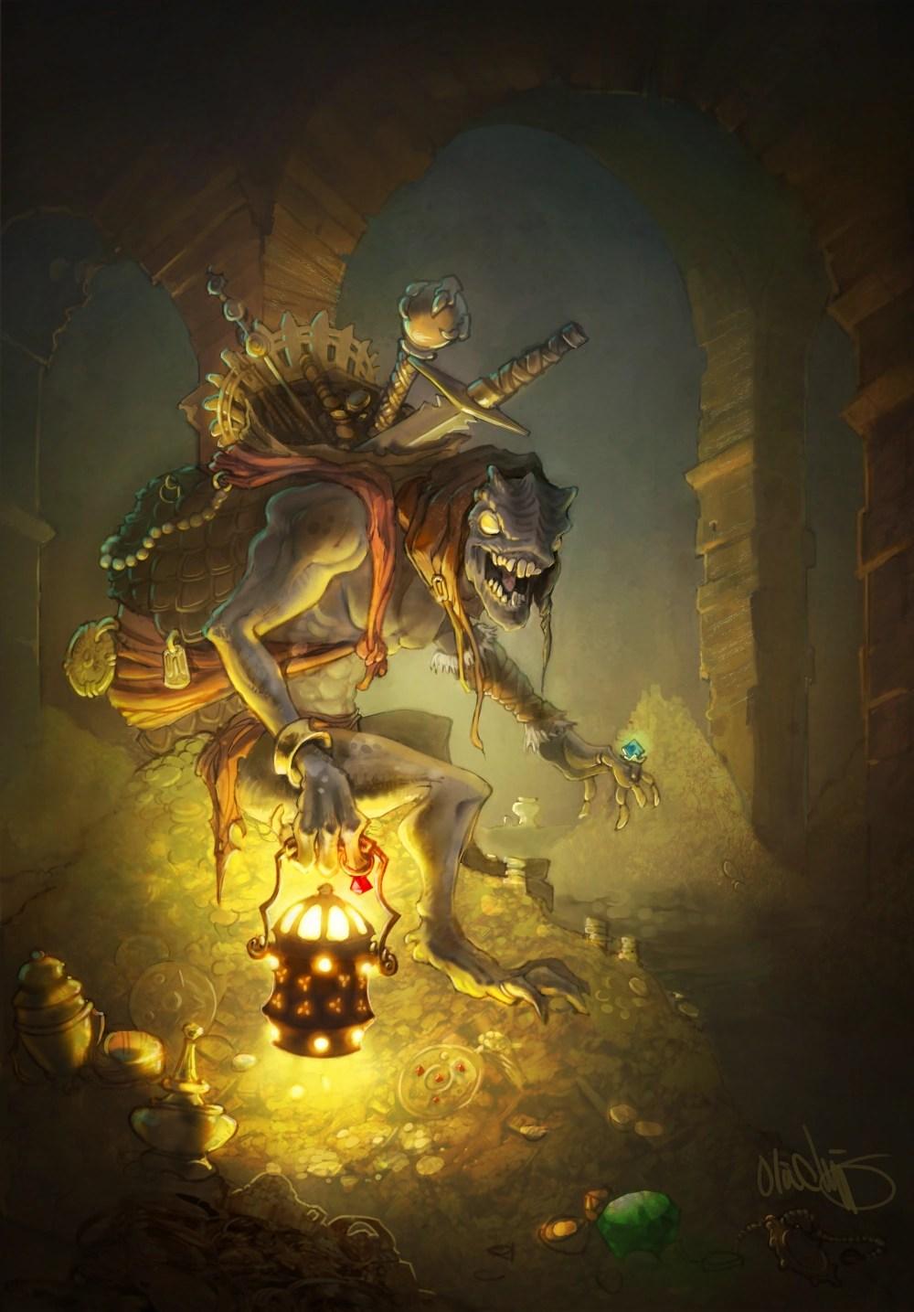 Vault Girl Wallpaper Treasure Goblin Diablo Wiki Fandom Powered By Wikia