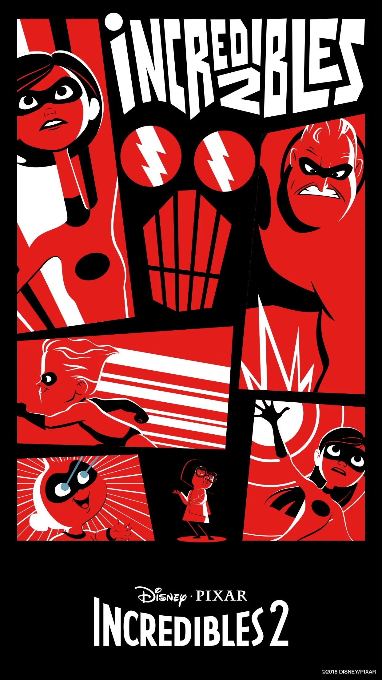 Cute Minnie Mouse Wallpaper Image Incredibles 2 Poster 3 Jpg Disney Wiki