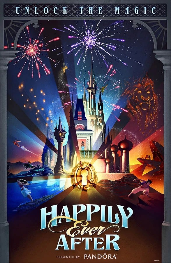 Broadway Quotes Wallpaper Happily Ever After Fireworks Show Disney Wiki Fandom