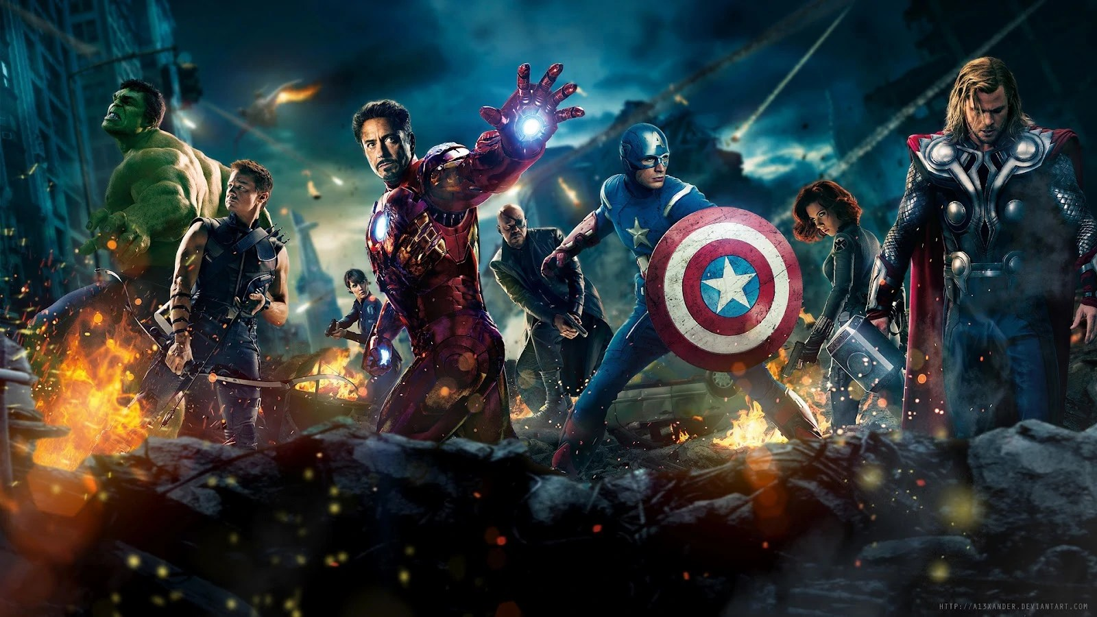 Image - Avengers-2012-full-hd-wallpaper-1920x1080-movie-1080p.jpg | Disney Wiki | FANDOM powered ...