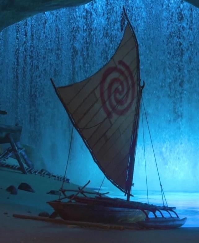 Iron Man 3 3d Live Wallpaper Moana S Boat Disney Wiki Fandom Powered By Wikia
