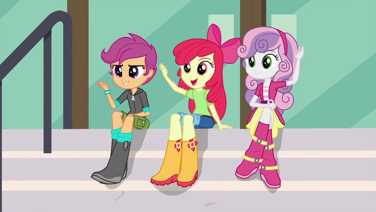 3d Wallpapers Friends Forever The Crusaders My Little Pony Equestria Girls Wiki
