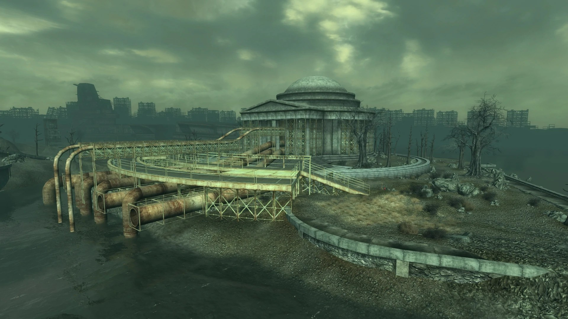 Jefferson Memorial Fallout Wiki Fandom Powered By Wikia