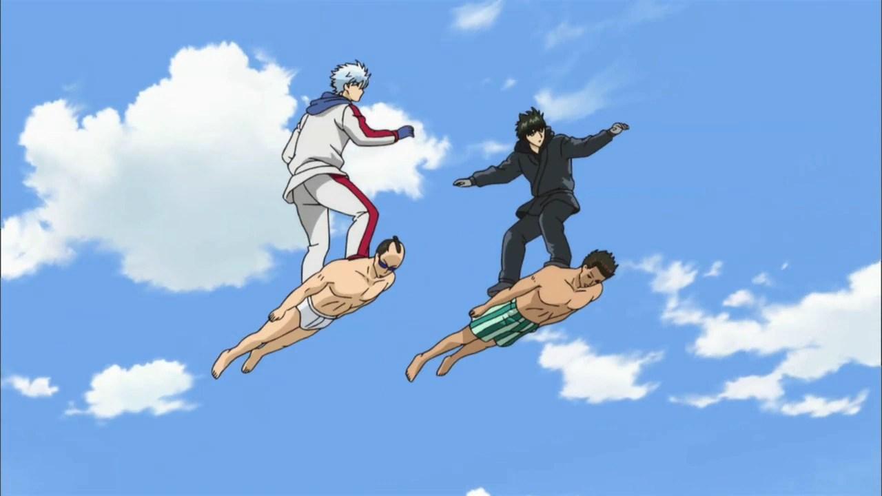 Neko Girl Live Wallpaper Episode 237 Gintama Wiki Fandom Powered By Wikia