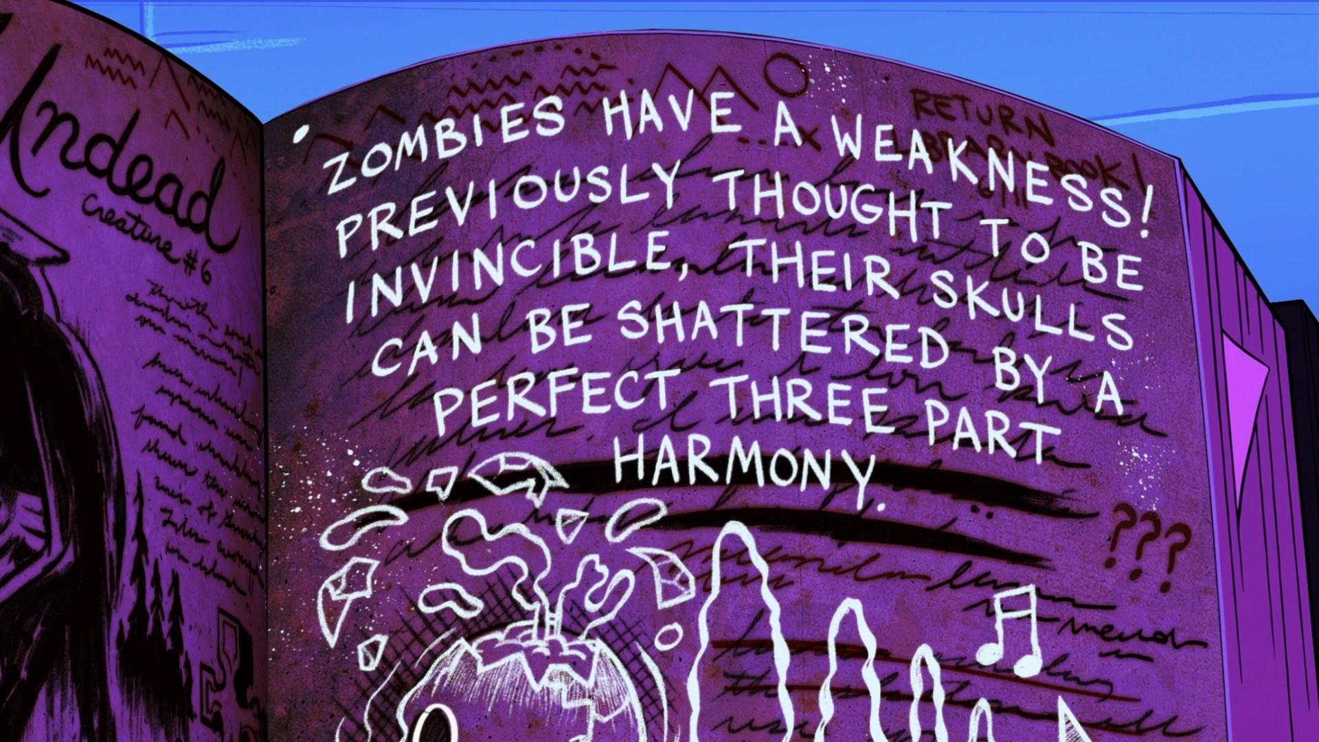 Gravity Falls Wallpaper Trust No One Image S2e1 Zombie Weakness Png Gravity Falls Wiki