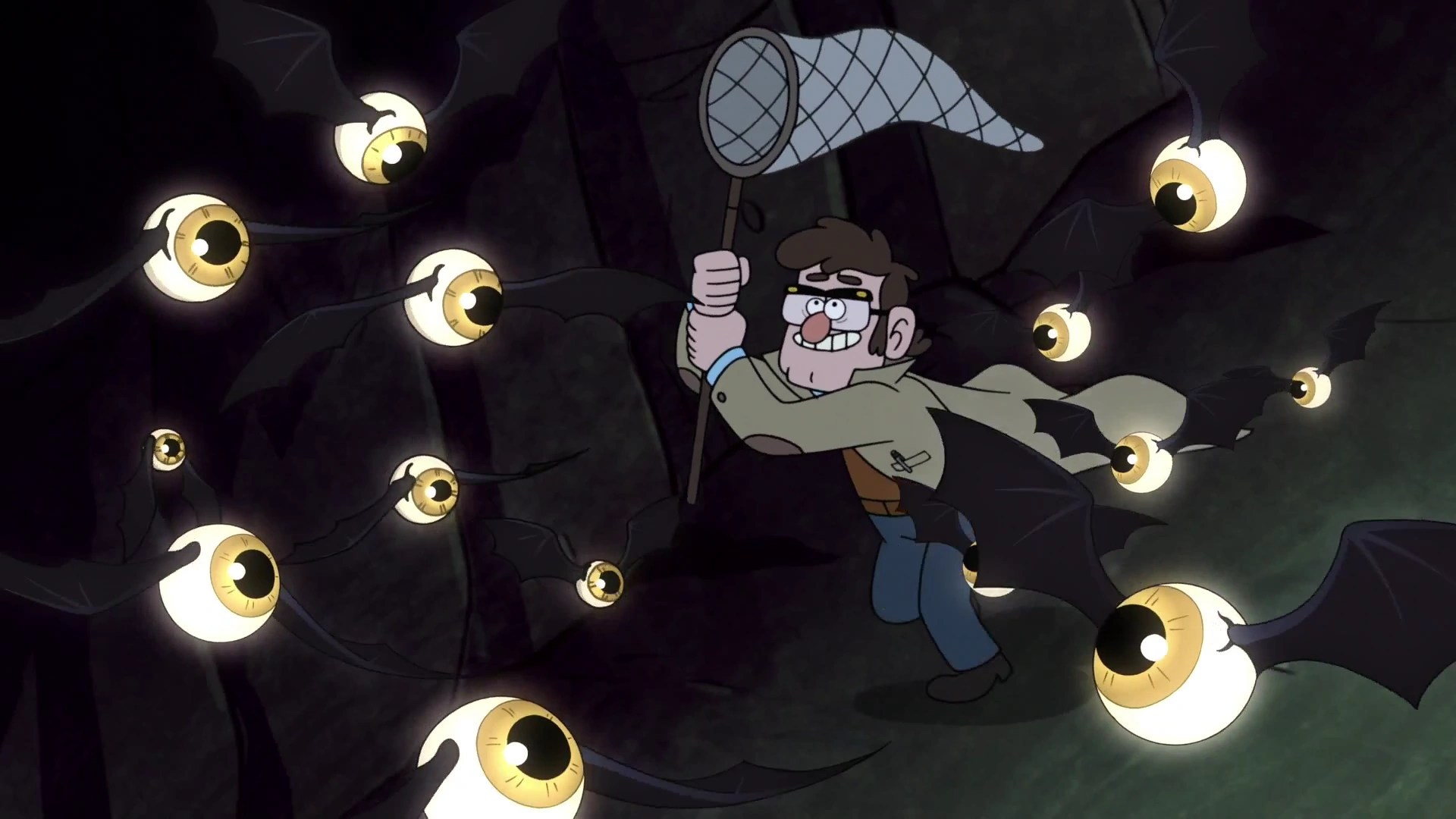 Gravity Falls Waddles Wallpaper Eye Bats Gravity Falls Wiki Fandom Powered By Wikia