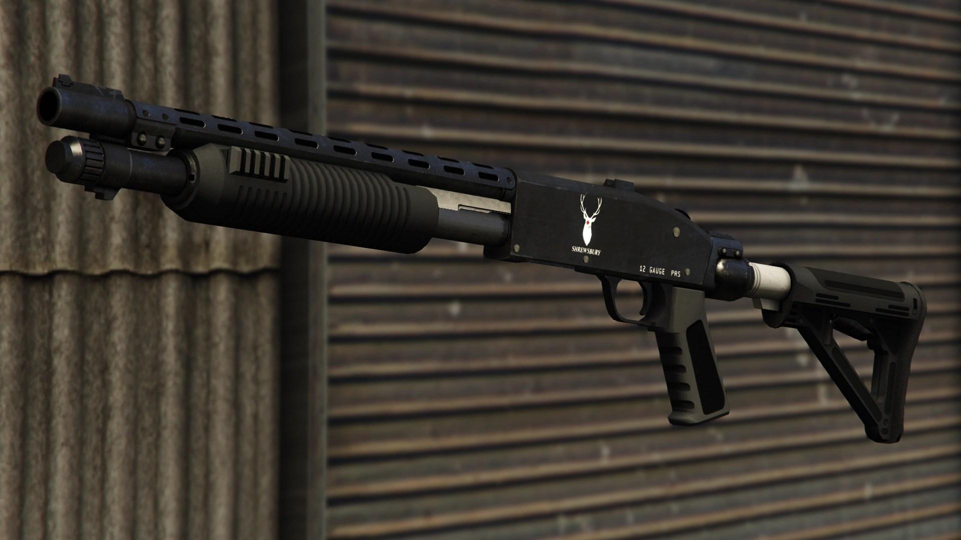 Yusuf Name 3d Wallpaper Pump Shotgun Gta Wiki Fandom Powered By Wikia