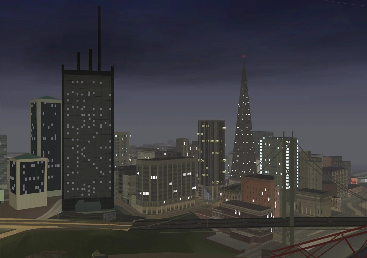 downtown new for gta san andreas