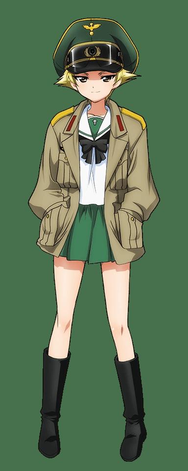Girls Und Panzer Katyusha Wallpaper Erwin Girls Und Panzer Wiki Fandom Powered By Wikia