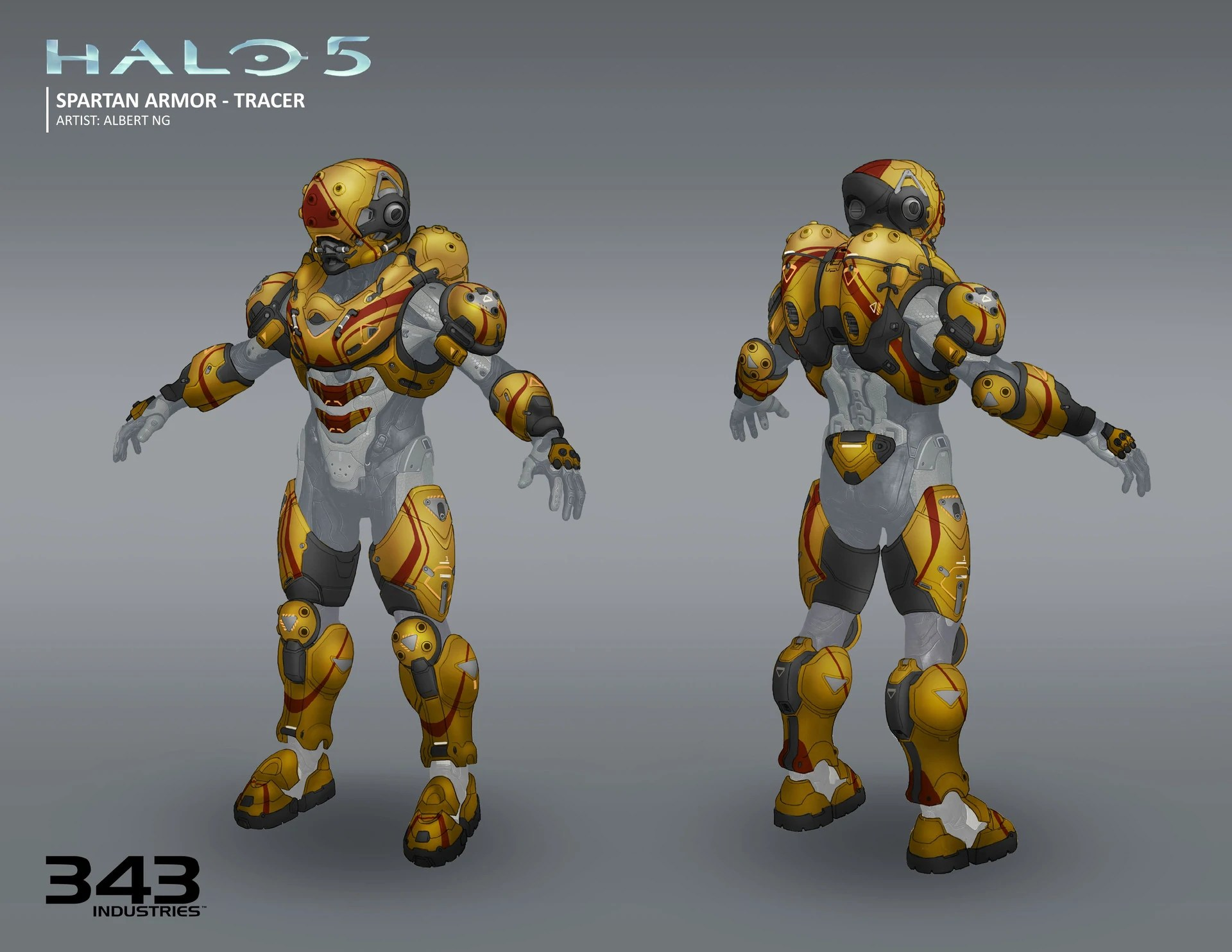 Halo Reach 3d Wallpaper Pc Image H5g Concept Armor Tracer Frontback2 Jpg Halo