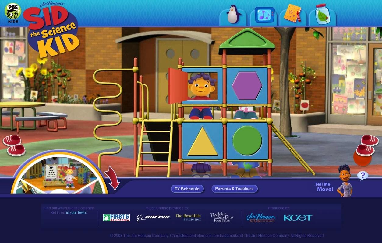 Sid The Science Kid Website Henson Digital Puppetry Wiki