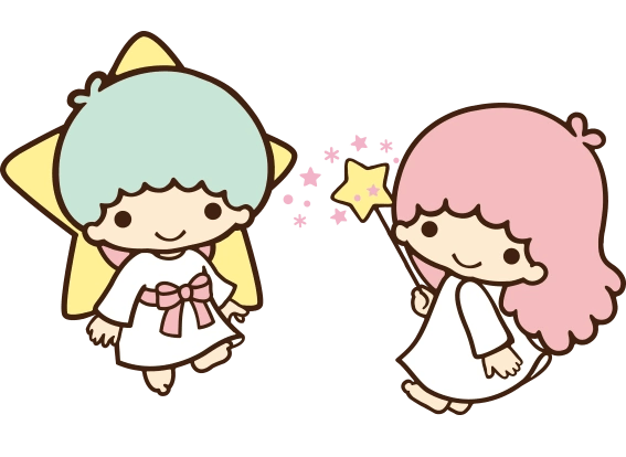 Cute Hello Kitty Wallpaper Image Sanrio Characters Little Twin Stars Image057 Png