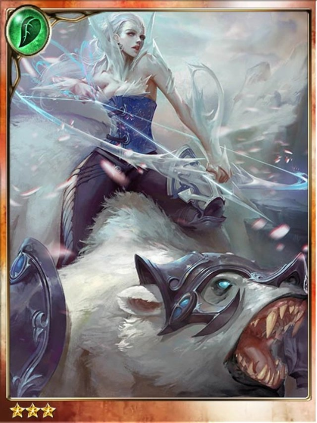Wallpaper Anime Girl Cool Ice Huntress Floriana Legend Of The Cryptids Wiki