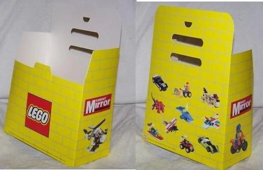 Daily Mirror Promotional Cardboard Storage Box City