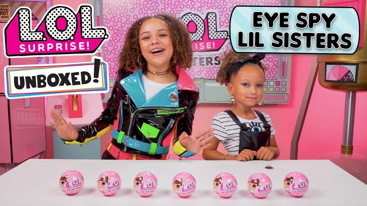 Baby Dolls Episode Unboxed Season 3 Episode 3 Eye Spy Lil Sisters Lol
