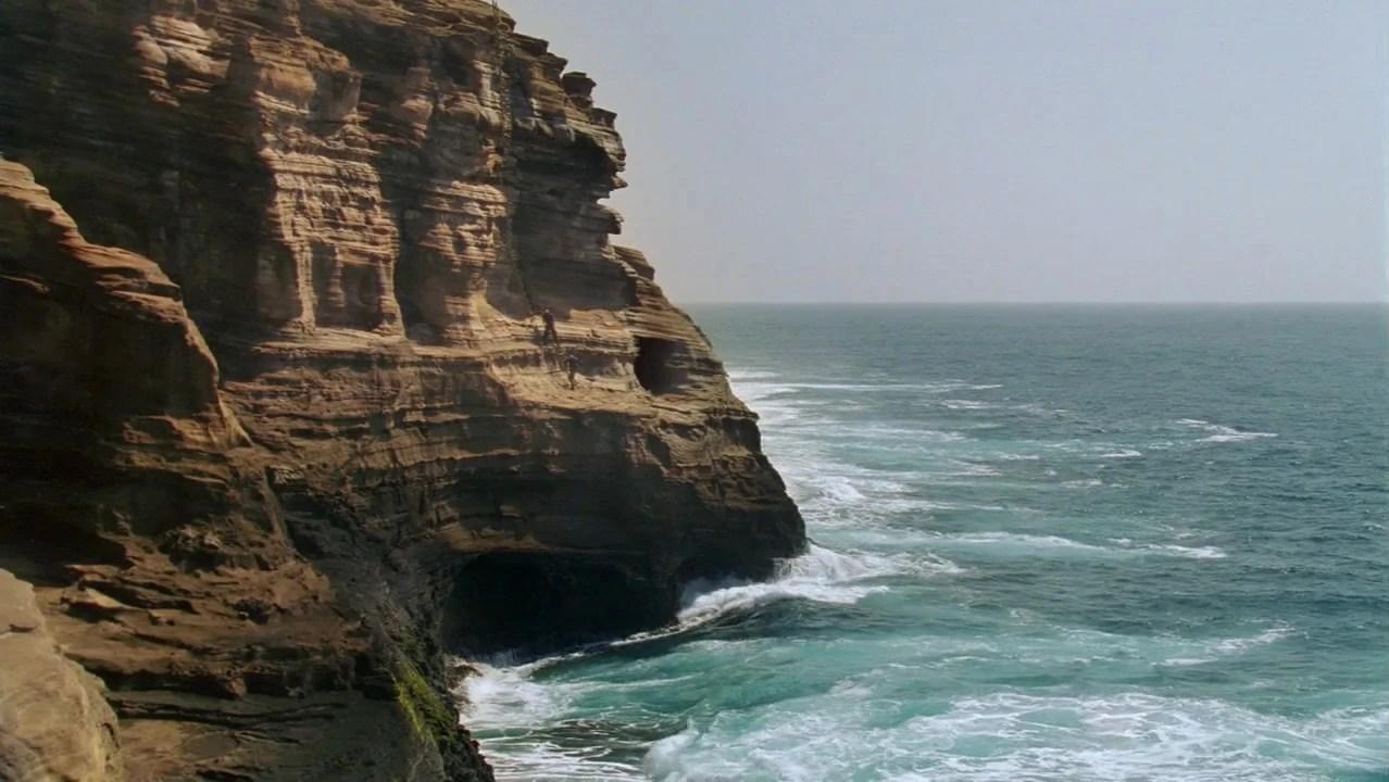 The Black Pearl Wallpaper Cliffside Cave Lostpedia Fandom Powered By Wikia