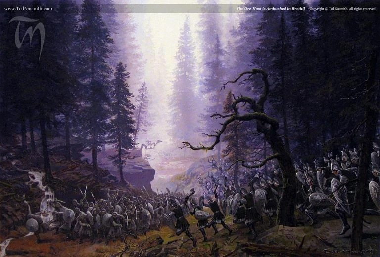 Lotr Fall Wallpaper Brethil The One Wiki To Rule Them All Fandom Powered